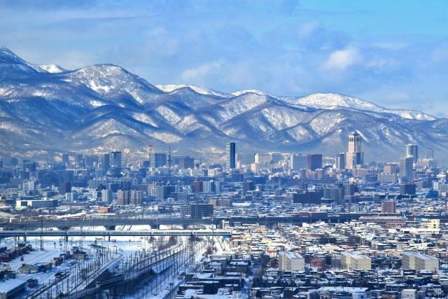 転勤先 札幌の風景