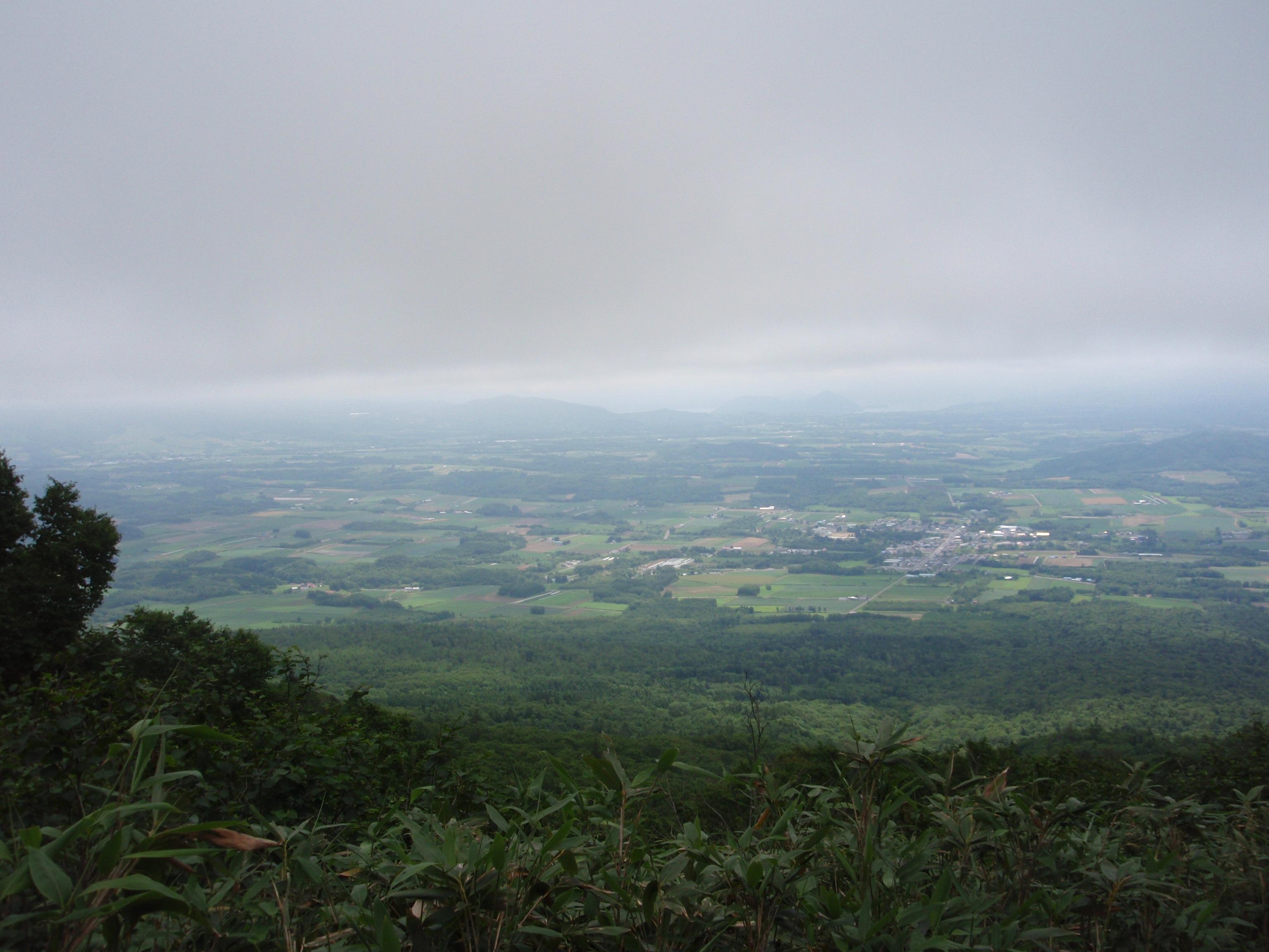 倶知安町の風景