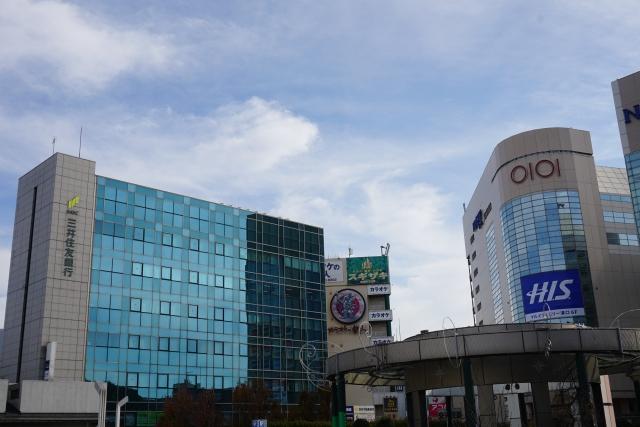 川崎 溝ノ口駅前