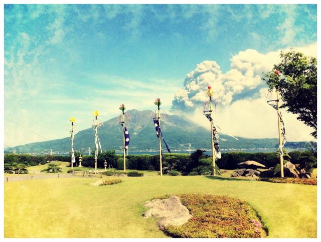 鹿児島 桜島の噴火