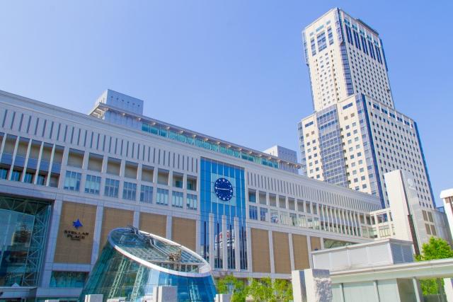 札幌駅南口写真