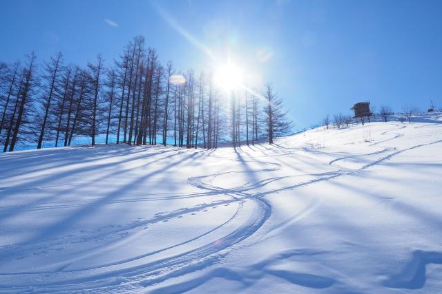 札幌の小学生のお稽古スキー
