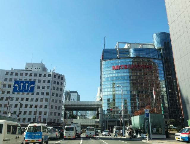 福岡市天神の風景