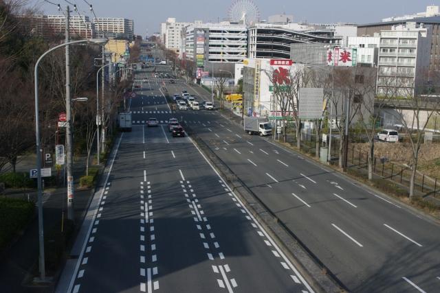 横浜市港北区の街並み